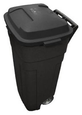 34-Gallon Heavy-Duty Wheeled Trash Can