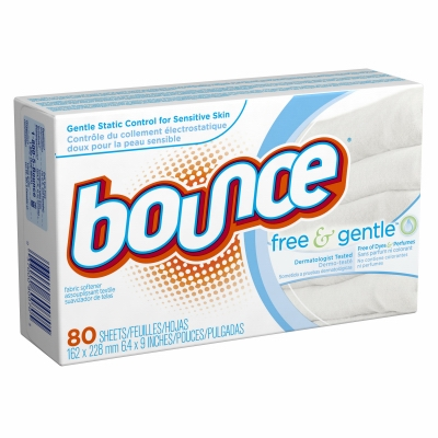 Fabric Softener Sheets, Fragrance Free, 80-Ct.