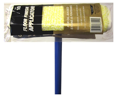 Floor Finish Applicator, With Handle, 10-In.