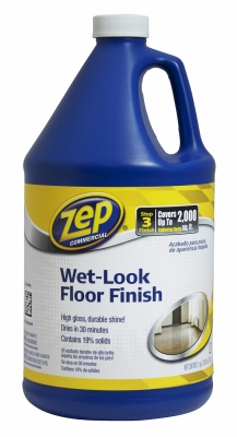 Wet Look Floor Finish, 1-Gal.