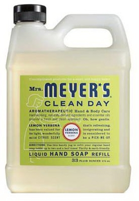 33-oz. Clean Day Lemon Scent Liquid Hand Soap Refill Bottle