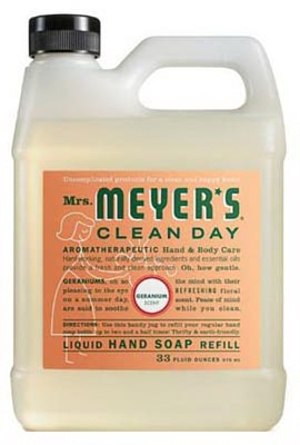 33-oz. Clean Day Geranium Scent Liquid Hand Soap Refill Bottle