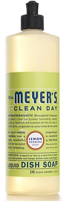Clean Day Lemon Verbena Liquid Dish Soap. 16-oz.