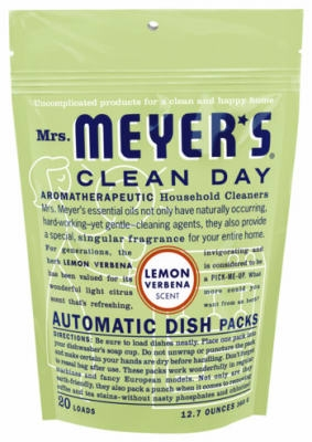 Clean Day  Lemon Automatic Dishwasher Pack, 20-Ct.