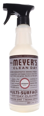 Mrs. Meyers Clean Day, Lavender Scent Multi Surface Everyday Cleaner Trigger Spray,  16-oz.
