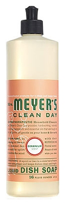 Clean Day 16-oz. Geranium Scent Liquid Dish Soap