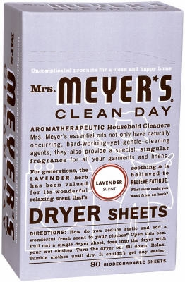 80-Count Clean Day Lavender Scent Dryer Sheets