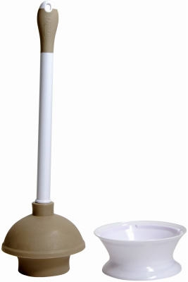 Plunger & Caddy With Microban