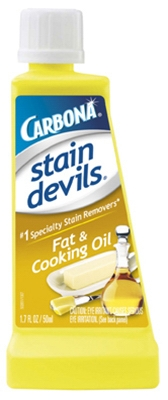 Stain Devils #5 Stain Remover, Fat & Cooking Oil, 1.7-oz.