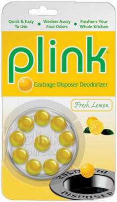 10-Pack Lemon-Scented Garbage Disposer Deodorizer