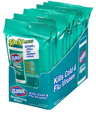 9CT Clorox Wipes To Go