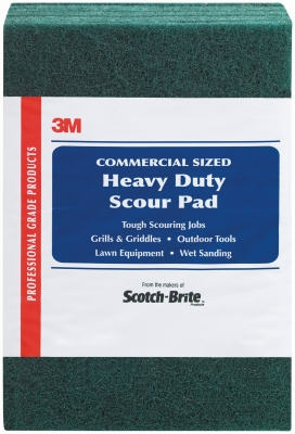 8-Pack Heavy-Duty Commercial Scour Pad