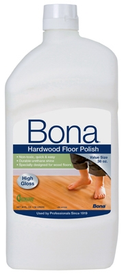 Hardwood Floor Polish - High Gloss 36 oz.