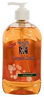 Liquid Soap, Antibacterial, 15-oz. Pump