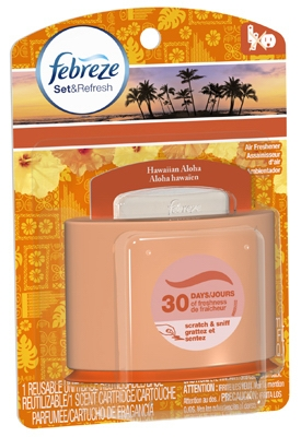 Set & Refresh Starter Kit, Hawaiian Aloha Scent