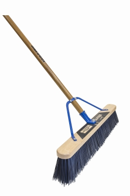 Super Stiff Pushbroom, 24-In.