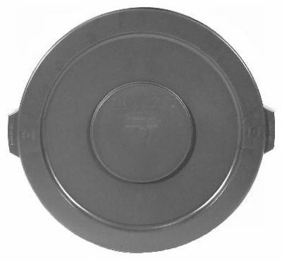 Trash Can Lid, Round, Fits Brute Container #2610-00, 10-Gal.
