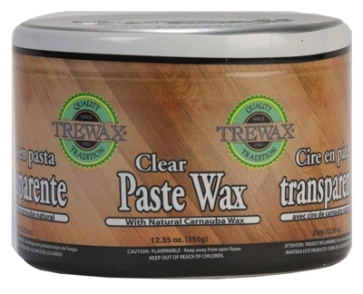 Wood & Floor Clear Paste Wax, 12.35 oz