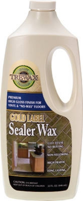 Floor Sealer Wax, 32-oz.