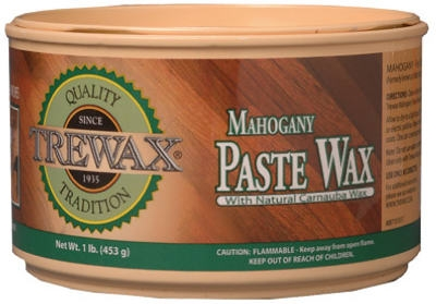 Hardwood Floor Mahogany Wood Paste Wax, 1-lb.