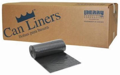 Trash Can Liners, Black, 60-Gal., 100-Ct.