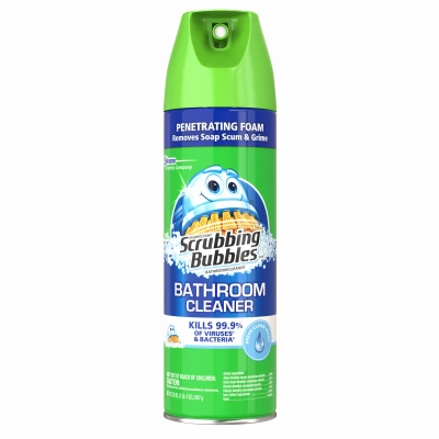 Fresh Clean Scent Antibacterial Bathroom Cleaner, 22-oz.