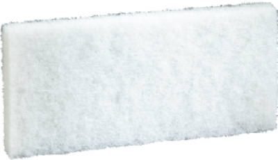 4-5/8 Inc x 10 Inch White Cleaning Pad