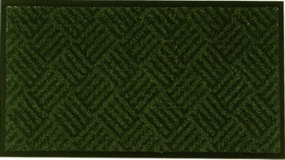 Floor Saver II Doormat, Green, 18 x 30-In.
