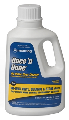 Once 'N Done Concentrated Floor Cleaner, 64-oz.