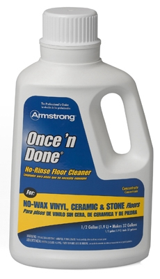Once 'N Done Concentrated Floor Cleaner, 1-Gal.