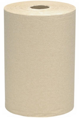 Hand Towel Roll, Brown, 7-7/8-In. x 400-Ft., 12-Pk.