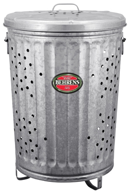 20-Gallon Trash/Burner Composter Can