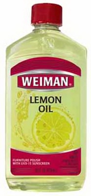 Lemon Oil Furniture Polish With Sunscreen, 16-oz.