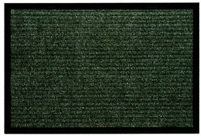 Scraper Plus Doormat, Green, 17-1/2 x 28-In.