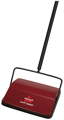SwiftSweep Cordless Carpet Sweeper