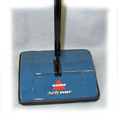 SturdySweep Cordless Carpet Sweeper