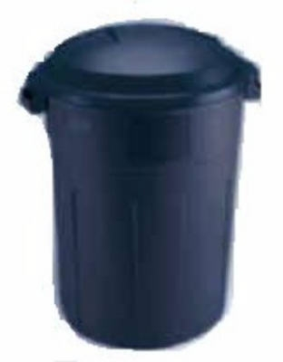 Roughneck Trash Can, Blue,  32-Gal.