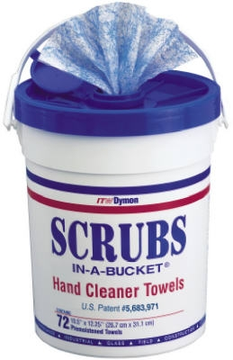 Scrubs In-A-Bucket, 10.5 x 12.25-In., 72-Ct.