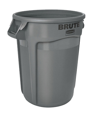 Brute Trash Can, Gray, 32-Gal.