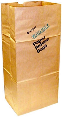 5-Pack 30-Gallon Paper Lawn & Leaf Bags
