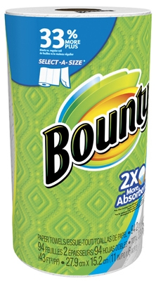 Select-A-Size Paper Towel, White, 84-Sheets