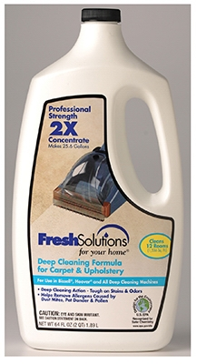 2X Deep Cleaning Carpet Cleaner Formula, 64-oz.