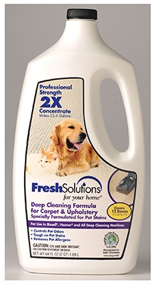 2X Pet Cleaning Carpet Cleaner Formula, 64-oz.