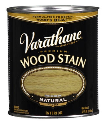 Varathane Qt. Natural Premium Oil-Based Interior Wood Stain