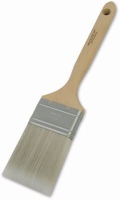 2-Inch Silver Tip Angle Sash Paintbrush