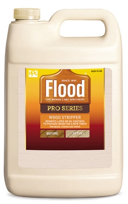 Premium Wood Finish Stripper/Cleaner, 1-Gal.