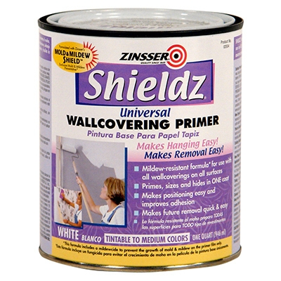 Shieldz 1-Gallon Universal Wallcovering Primer