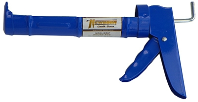 Non-Drip Caulking Gun, Smooth Rod, 3:1 Thrust Ratio