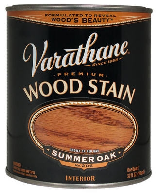 Varathane Qt. Summer Oak Premium Oil-Based Interior Wood Stain