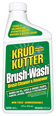 Brush Wash Paintbrush Cleaner, 1-Qt.